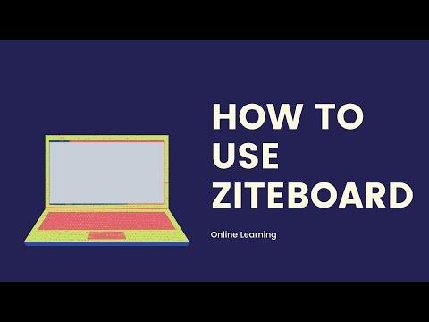 HOW TO USE ZITEBOARD ONLINE WHITEBOARD | ZITEBOARD DEMO VIDEO | ZITEBOARD COLLABORATION