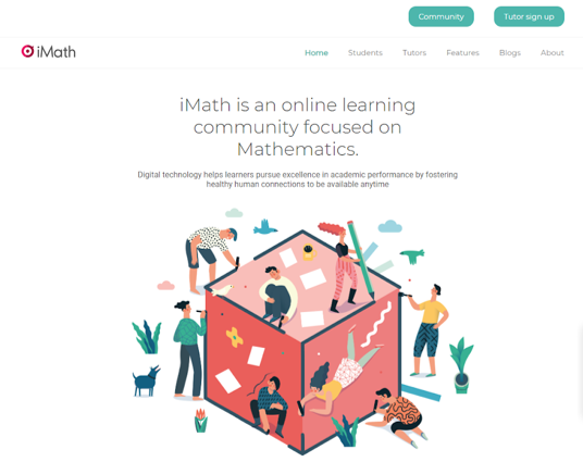 iMath.sg Online Math Tuition Homepage