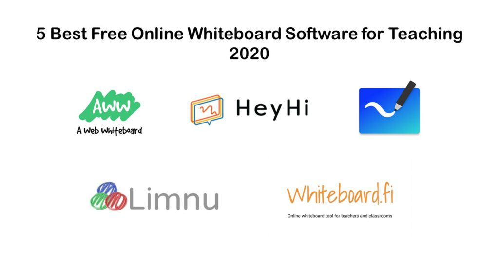 5 Best Free Online Whiteboard Software for Teaching