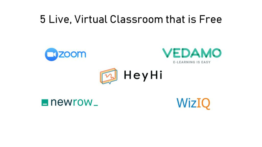 5 Live, Virtual Classroom that is Free